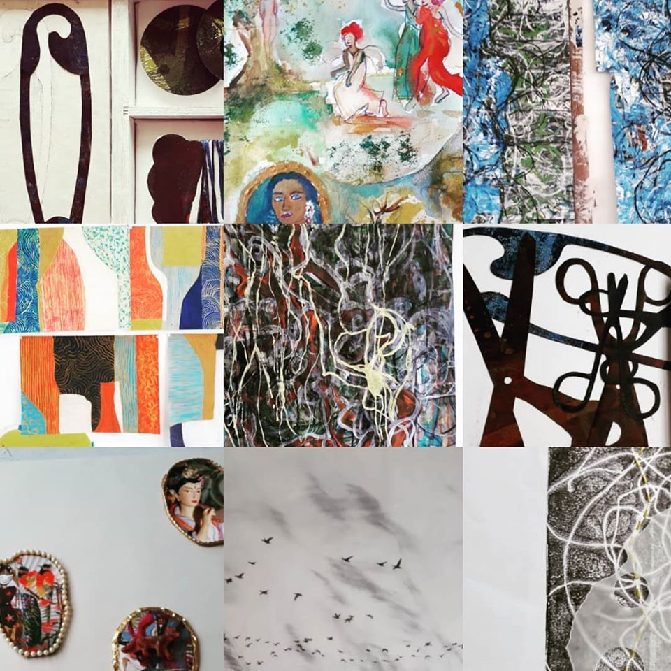 Art Direction Class Norwich Collage